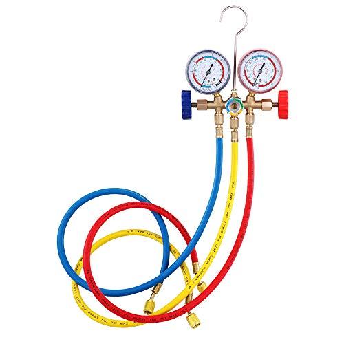 Koelmiddel manometer set airco gereedschap met slang en haak voor Air Condition Refrigeration