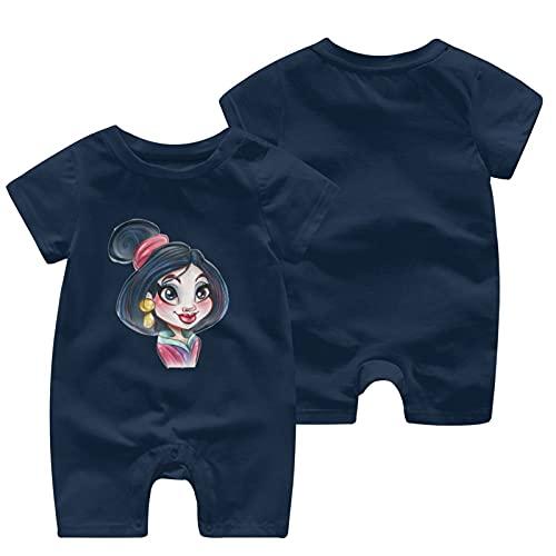 O&X Mulan - Mono de manga corta para bebé