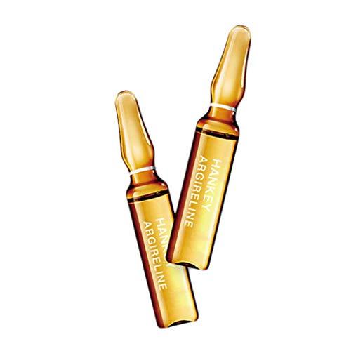 Routinfly Beauty Flüssigkeit,Gesundheits und Schönheitsessenz Feuchtigkeitsspendende und aufhellende Hyaluronsäure-Ampullen Essenz Essenz kleine Ampullen (Braun)