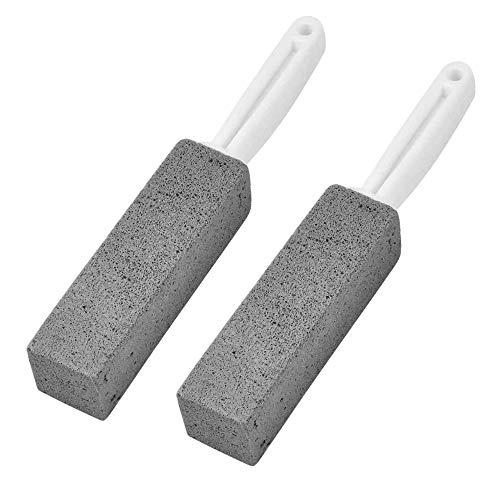 Piedra de Limpieza de Piedra pómez WISETOP, Cepillo de Limpieza de Piedra pómez de baño, Limpieza de Inodoro / Piscina / Cocina / Limpieza del hogar / Fregadero / Rejilla / baldosas Manchas Rebeldes