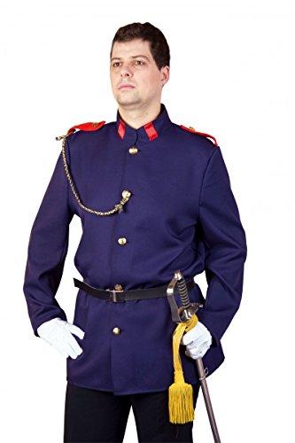 Uniformjacke, blau Größe 54/56