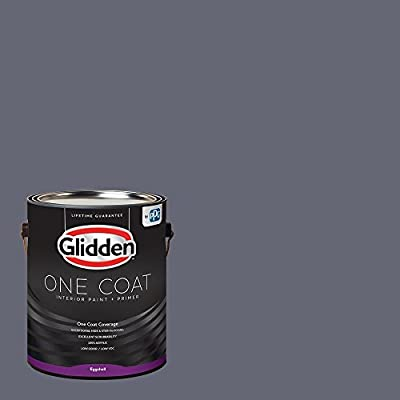 One Coat - Glidden - Interior Paint & Primer, Blue Paint Color