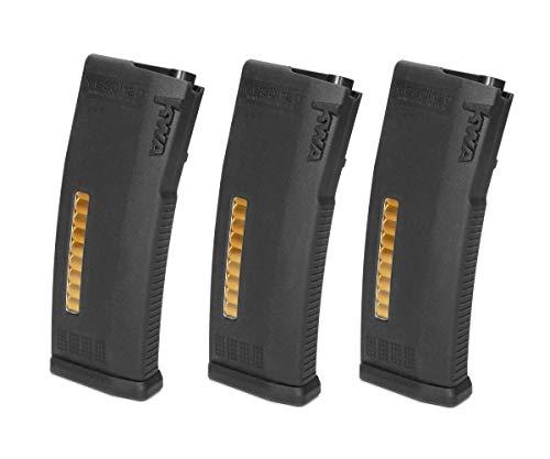 KWA MS120C - Adjustable ERG/AEG2.5/AEG3 Mid-Cap Magazines- 3 Pack