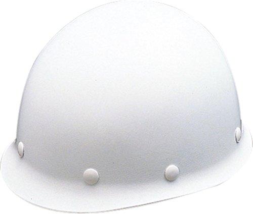 ユニット ヘルメットMP型(飛)白 FRP 377-03WH [A061107]