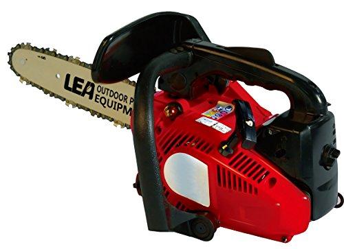 Lea LE32255-25A Motosierra de Gasolina, Rojo, 25 cc