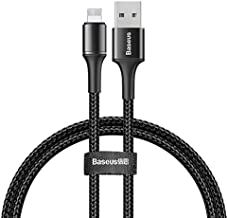 Baseus Halo Data Cable Usb iP 1.5A 2M (Siyah)