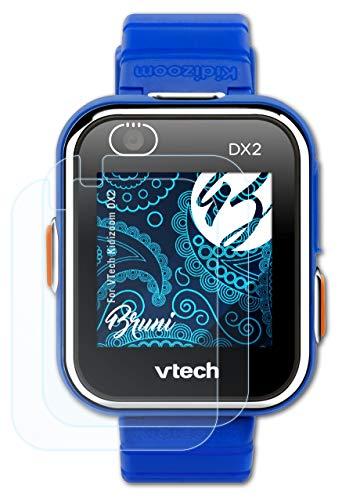 Bruni Película Protectora Compatible con VTech Kidizoom DX2 Protector Película, Claro Lámina Protectora (2X)
