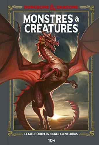 Donjons et Dragons - Monstres et créatures, guide officiel - Guide de jeu - Dès 11 ans