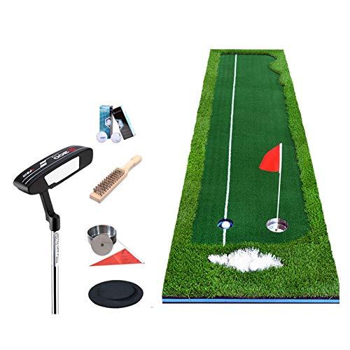 LLF Alfombras de Putting, PRÁCTICA DE Golf Accesorio Golf Interior Práctica Verde Práctica Golf Putting Golf Putting Green Artificial Turf Rollo De Hierba 0.5 * 3, 0.75 * 3 (Hierba De Cuatro Colores)