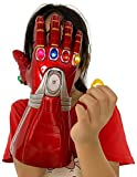 New Iron man Infinity Gauntlet for Kids, Iron Man Glove LED with Removable Magnet Infinity Stones-3 Flash mode. (Kids)