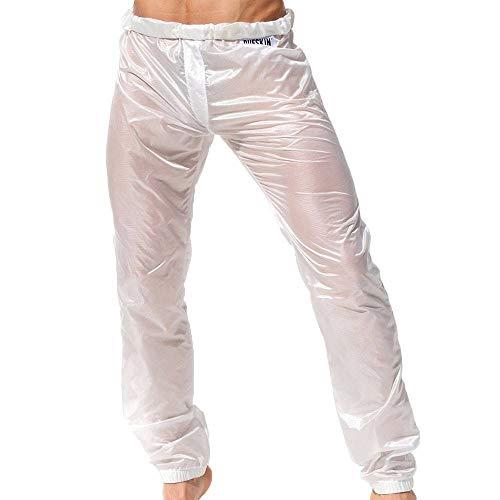 Rufskin - Pantaloni rolldown bianco M/L