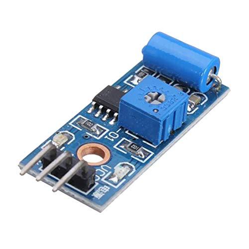 TOYANDONA Módulo de Sensor de Movimiento, Interruptor de vibración, módulo de Alarma para Arduino