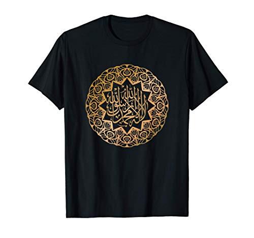 Oración árabe Islámica Islam Religión Musulmana Dios Regalo Camiseta