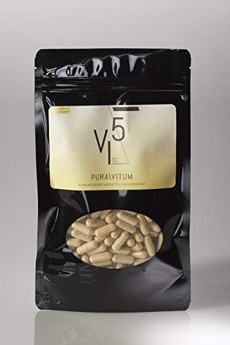 Puravitum VI5 – Vital Immun Natuurproduct: ondersteunt het immuunsysteem, sterk gedoseerd: navulverpakking 90 capsules, veganistisch, made in Germany