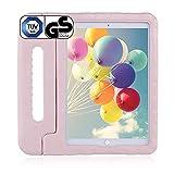 Brand.it Learn.it - Funda para iPad de 10.2 para niños, con certificado TÜV GS, resistente a los golpes, de espuma, ideal para la escuela y las clases, apta para Apple iPad, color rosa