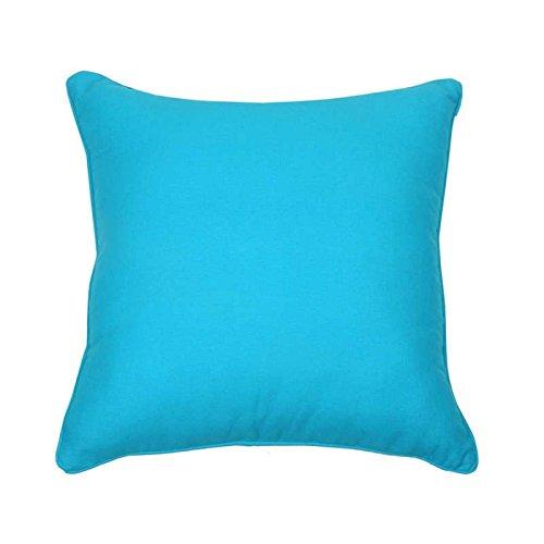 /Turquoise /3,5/cm /Épaisseur du Coussin/ TODAY weichstuhlkissen rembourr/é avec Fixation Lacets/ /40/x 40/cm/
