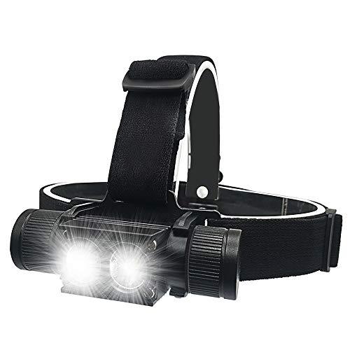 Headlamp Flashlight LED Rechargeable Headlamp 1200 Lumen Super Bright Headlamp Durable Waterproof...
