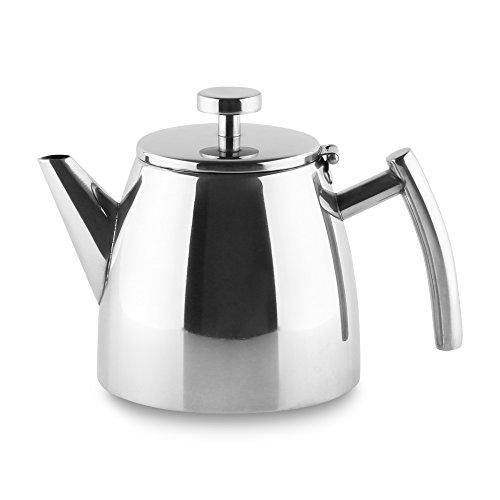 Nouveau Grunwerg CAFE OLE rondeo Acier Inoxydable Théière avec infuseur rt-035x 1,0 l