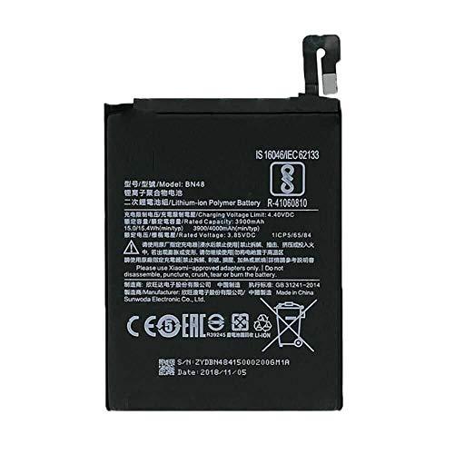 Todobarato24h Bateria Compatible con Xiaomi REDMI Note 6 Pro BN48 3900 mAh