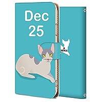 AQUOS sense3 ケース 手帳型 アクオス センス3 カバー スマホケース おしゃれ かわいい 耐衝撃 花柄 人気 純正 全機種対応 誕生日12月25日-猫 アニメ アニマル かわいい 8916532