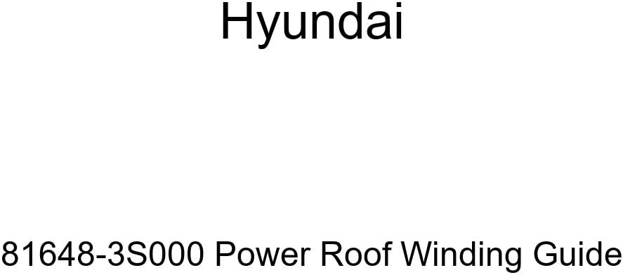 Hyundai 81648-3S000 Power Max 47% OFF Branded goods Winding Roof Guide