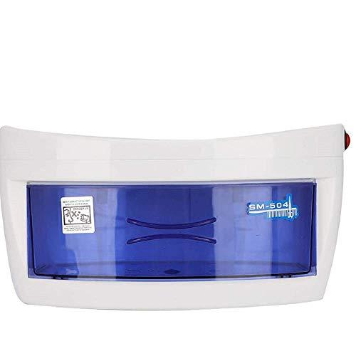 azorex Esterilizador UV Profesional para Aparatos Manicura Peluquería Ultravioleta Desinfectante Caja Esterilizador (Grande)