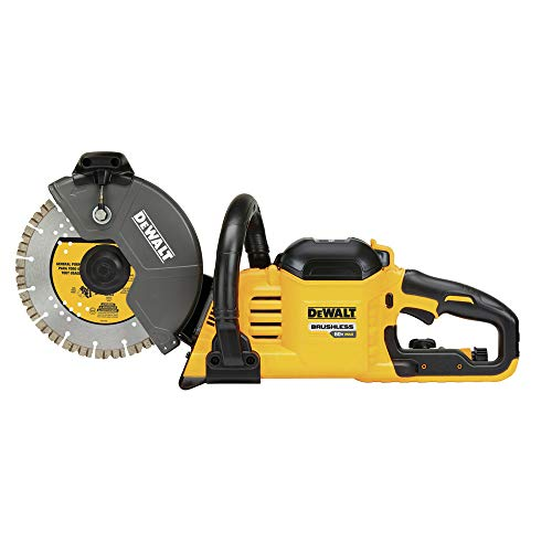 DEWALT 60V MAX Masonry Saw, Cordess, Brushless, 9-Inch (DCS690B)