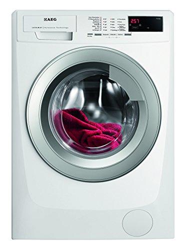 AEG LAVAMAT L68470VFL Waschmaschine FL / A+++ / 171 kWh/ Jahr / 1400 UpM / 7 kg / 9499 L/ Jahr / TouchControl Tasten / Restlaufzeitanzeige