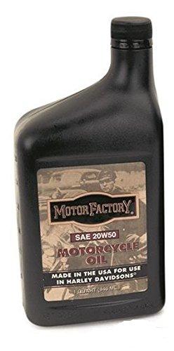 Motor Factory Hochleistungs SAE 20W50 Motoröl Öl mineralisch für Harley (0,946L)