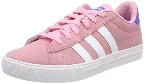 Adidas Daily 2.0 K, Zapatillas de Deporte Unisex niño, Rosa (Rossua/Ftwbla/Azalre 000), 35 EU