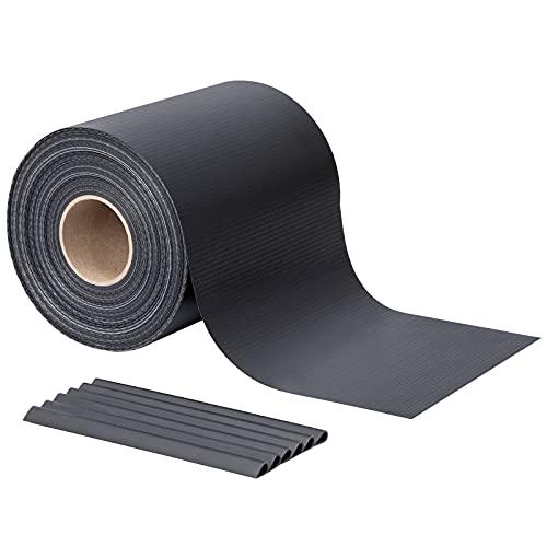 LARMNEE Paravista in Tessuto PVC, Recinto per Giardino, Protezione per Recinzione Privacy, 50 m x 19 cm, Multiuso, Paravento, con Mollette EGY050JW02