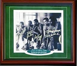 1968-1969 Boston Celtics Autographed / Signed Framed Starting Five 8x10 Photo