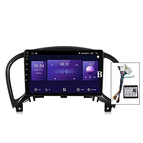 Android Car Radio para Nissan Juke 2010-2014 GPS Navigation Pantalla táctil capacitiva Bluetooth Car Stereo Player FM RDS Radio Receptor built-in carplay Manos libres bluetooth DSP,7862 b,4+64G