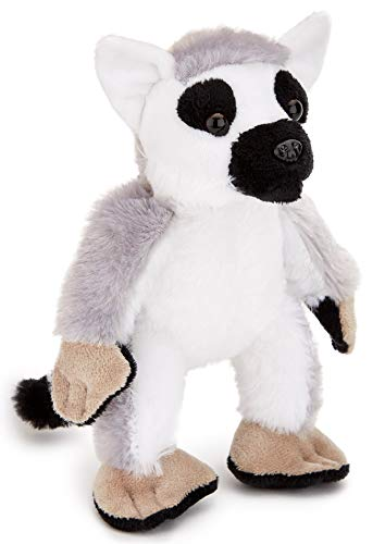 Zappi Co |Anillo de lémur de Cola Peluche de Juguete del Juguete de Felpa para Niño. Jugar al Escondite Juguetes Gran niños y Adultos