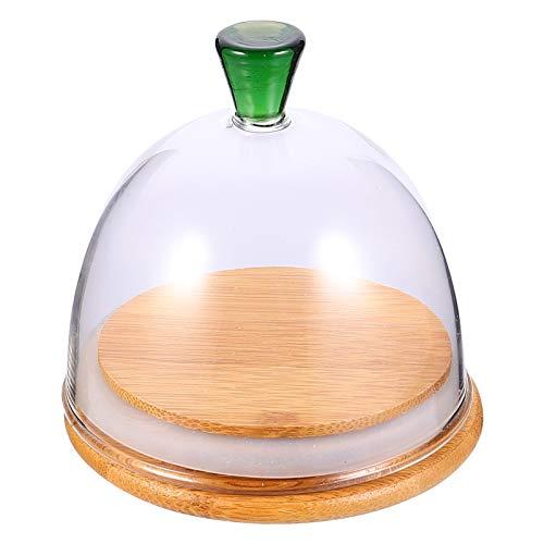 campana cristal base madera de la marca Yarnow