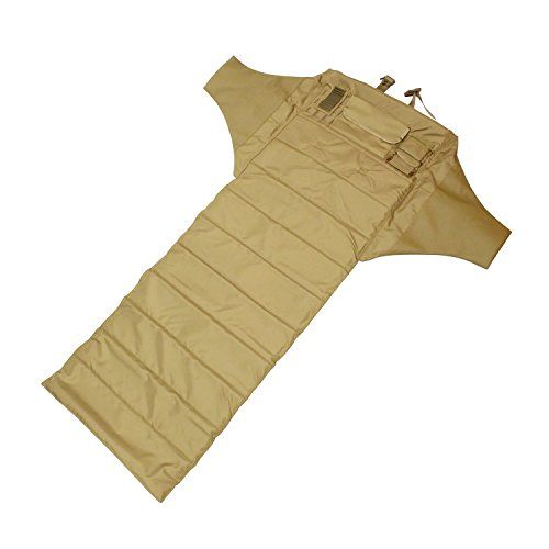 Redneck Convent Khaki Shooters Mat Padded Roll Up Mat, 1/2in Pad - Hunting, Precision Shooting, Long Range Shooting Accessories