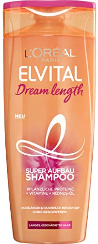L'Oréal Paris Elvital Dream Length Super Aufbau Shampoo, 6er Pack(6 x 300 ml)