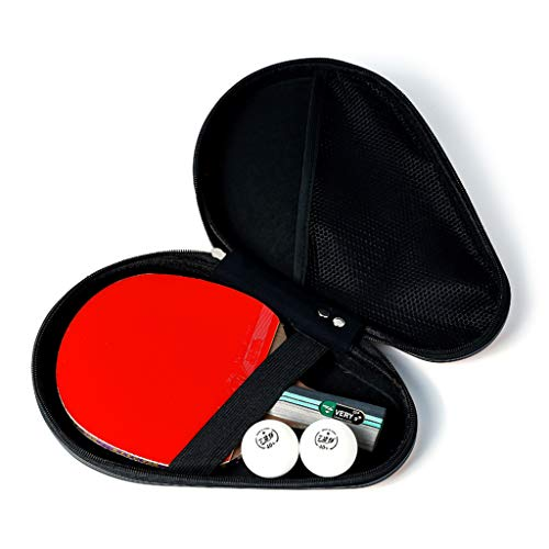 Cheapest Prices! Table Tennis Paddle Professional - Ping Pong Paddle with Carrying Case – Approved...