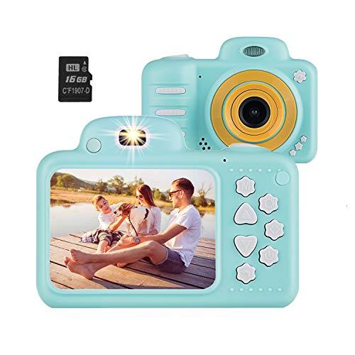 Vannico Camara de Fotos para Niños, Camara para Niños Video Cámara Infantil 8MP 1080P HD 16GB...