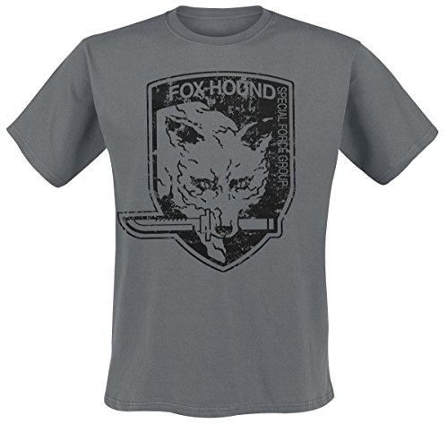 Metal Gear Solid T-Shirt Foxhound Size S [import allemand]