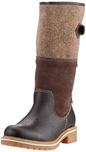 Tamaris Damen 1-1-26432-23 Hohe Stiefel, Braun (Mocca Comb 303), 40 EU