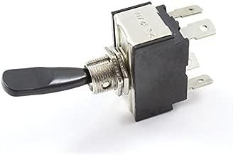 Gaoominy Interruptor Basculante CA 250V 16A 4 Pin ON//OFF I//O 2 Posicion DPST 28x21mm