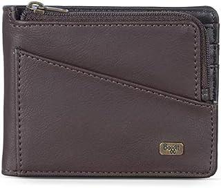 Baggit Men's Synthetic Wallet (Brown) (Pipa Y G Z)