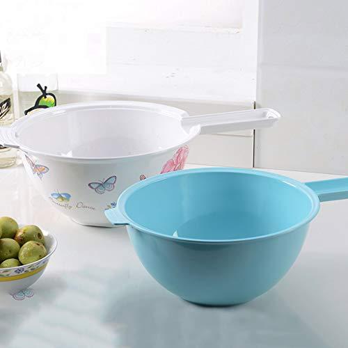 YYHSND Fila de Cocina de cestas de Frutas y Verduras es Limpio y Conveniente Bandeja de Frutas (Color : Dancing Butterfly)