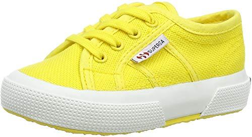 Superga Jungen Unisex-Kinder 2750-bebj Baby Classic Gymnastikschuhe, Gelb (Yellow Sunflower 176), 22 EU