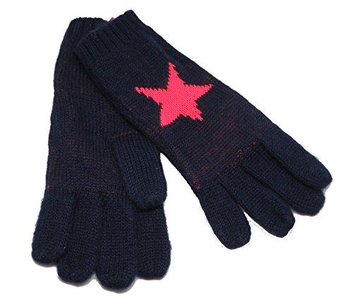 CODELLO 32098503 D09 [33] Poetry Grunge Knit Handschuhe - blau (COL 02)