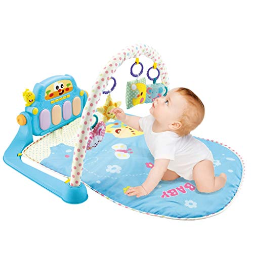 Best Bargain YUT 【US Fast Shipment】 2 in 1 Learning Walker & Baby Crawling Game Pad with Pedal P...