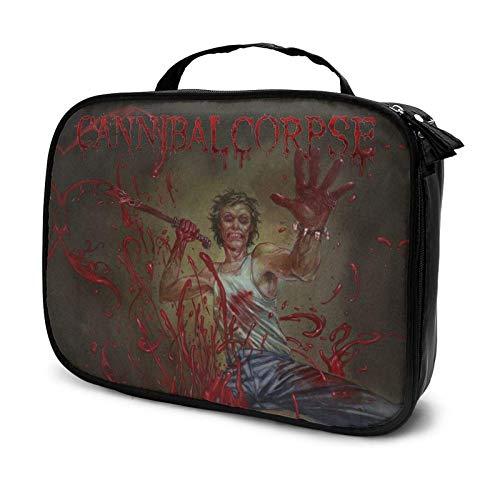 Cannibal Corpse - Estuche de viaje para cosméticos, con compartimento