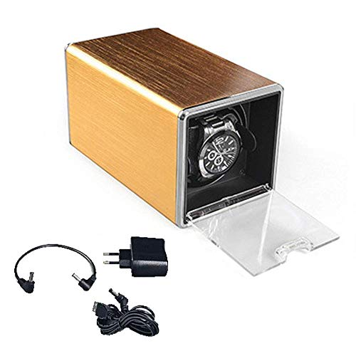 KAIBINY Caja de Reloj Mecánico automático del Reloj de la Cadena de Caja, los Hombres del Reloj de los Relojes de Cuerda automática de la máquina 2 Maquinaria de epítopos