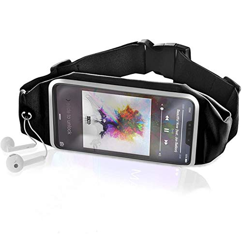 Akashi Technology - Deportivo Cinturón de Correr - Compatible con iPhone, Galaxy, Pixel, ..